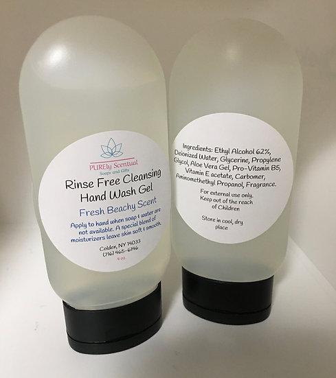 Rinse Free Hand Wash Gel