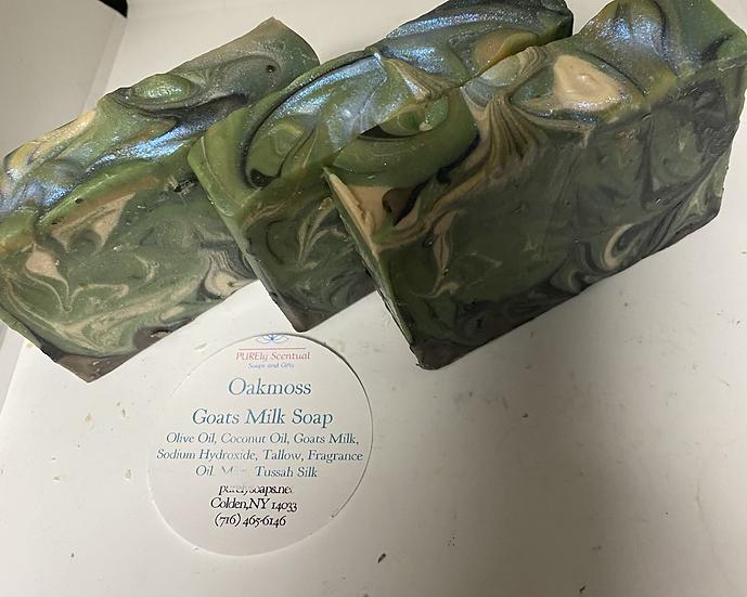 OakMoss Goats Milk Soap