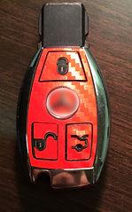 Mercedes Schlüsselfolie