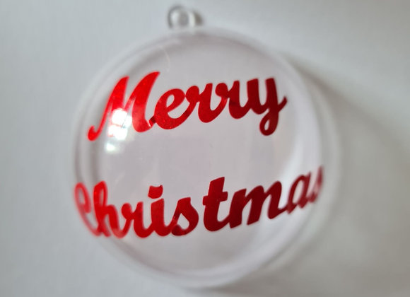 Fillable bauble