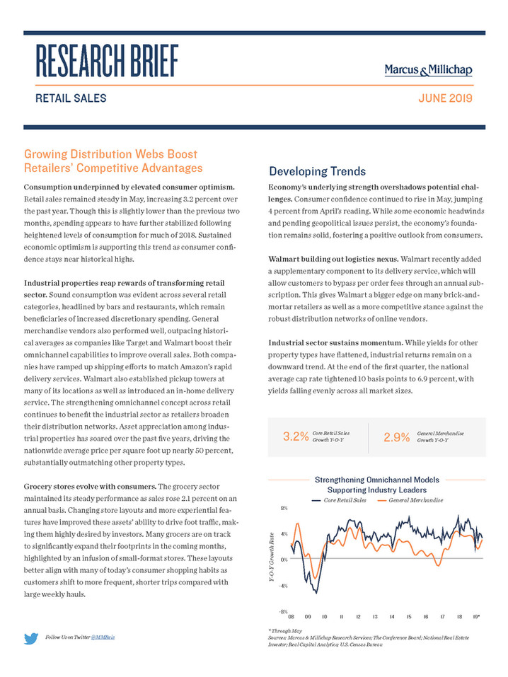 June 2019 | Retail Sales Research Brief