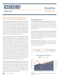 December 2019 | Retail Sales Research Brief