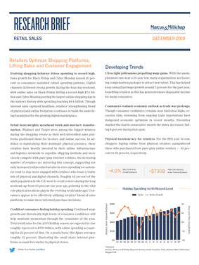 December 2019 | Retail Sales Research Brief