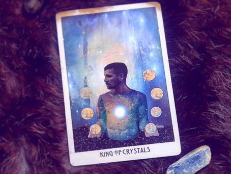 ✨Todays Tarot...King of Crystals!✨