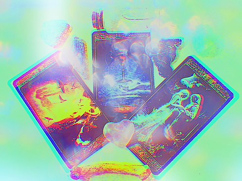 Supernatural Ghost Tarot Reading - 3 Cards, High Quality Download