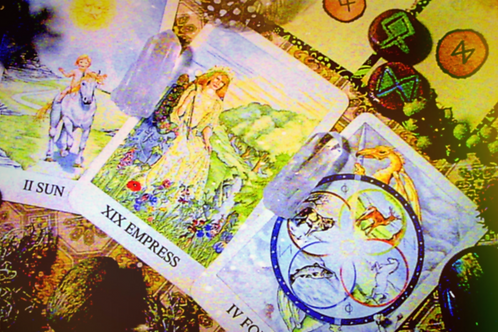 Celtic Merlin Tarot and Rune Card Reading- 3 Cards, High Quality Download