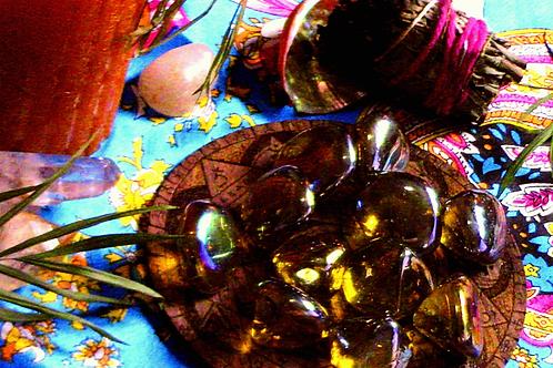 Tumbled Rainbow Titanium Aura Crystals