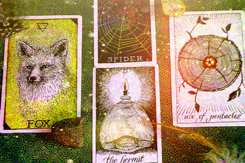 Nature Spirit Guidance Reading- 4 Cards, High Quality Download