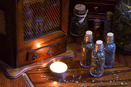 Witches' Corked Apothecary Jars o' Herbs - BB Apothecary