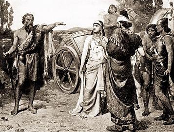 Le prophète Elie défiant le roi Ahab
