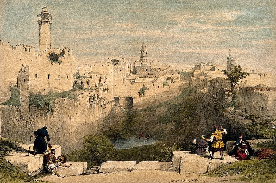 Le bassin Birket Israel