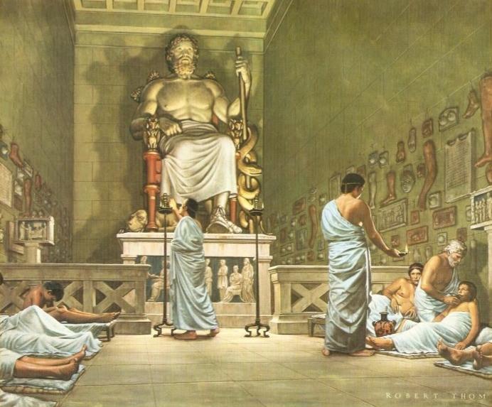 Temple d'Esculape