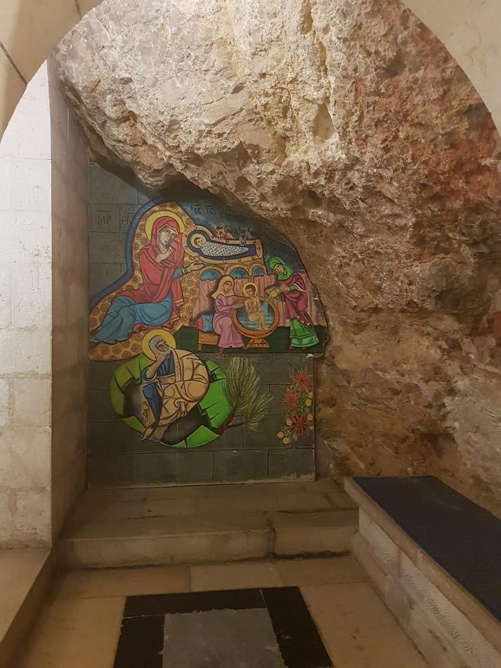Grotte de la Nativité de Marie, Sainte-Anne Béthesda