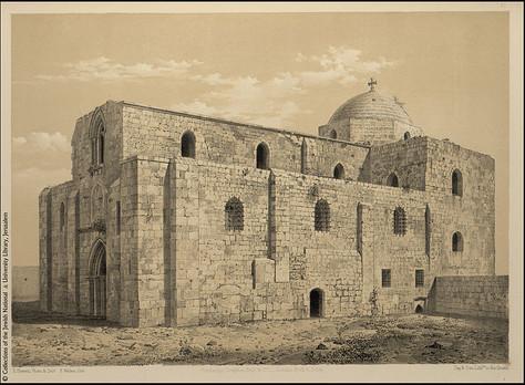 Le domaine de Sainte-Anne et Béthesda à Jérusalem
