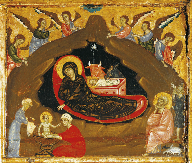 Nativity scene, Musee du Louvre, Paris