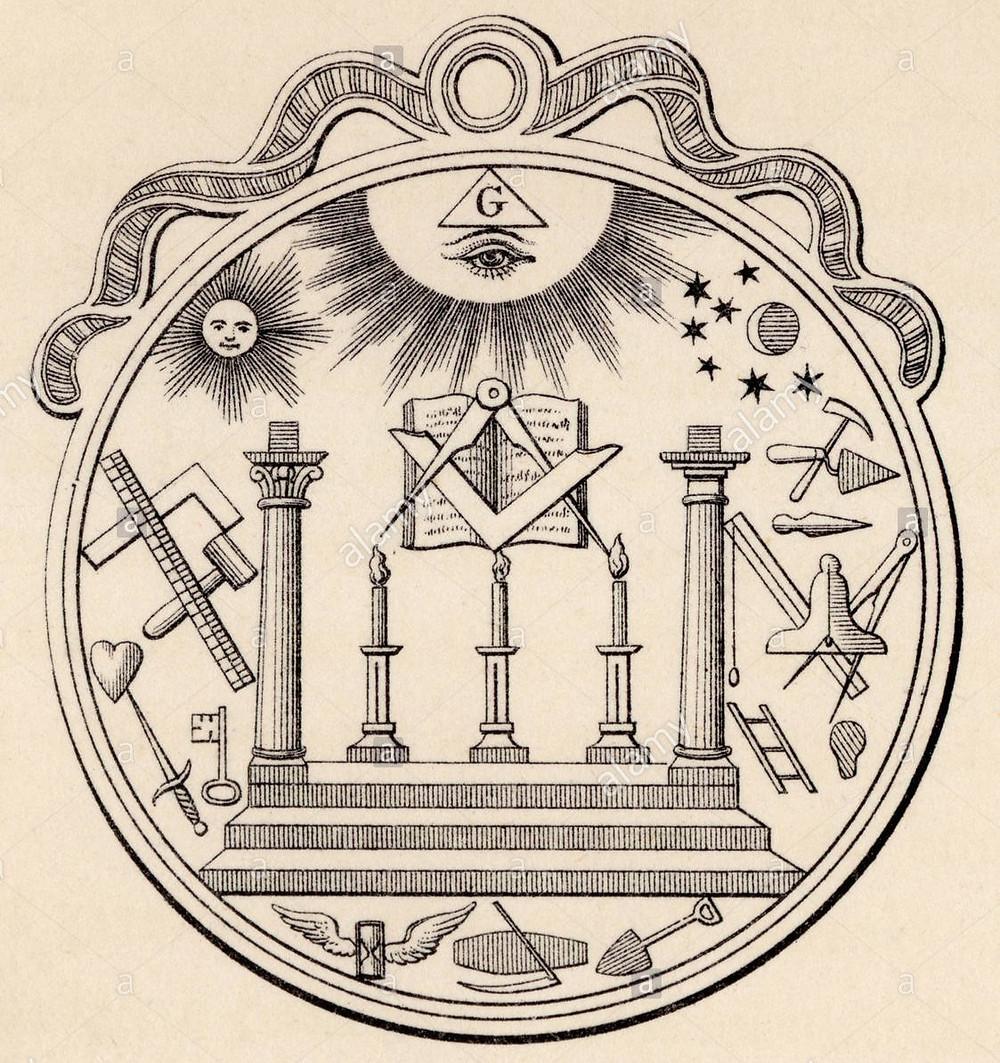 Le sceau de la Franc-maçonnerie