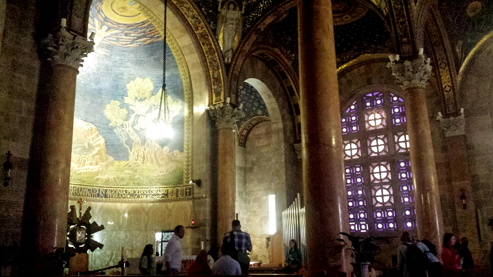 Inside the Church of All Nations (Albert Tour Guide Israel)