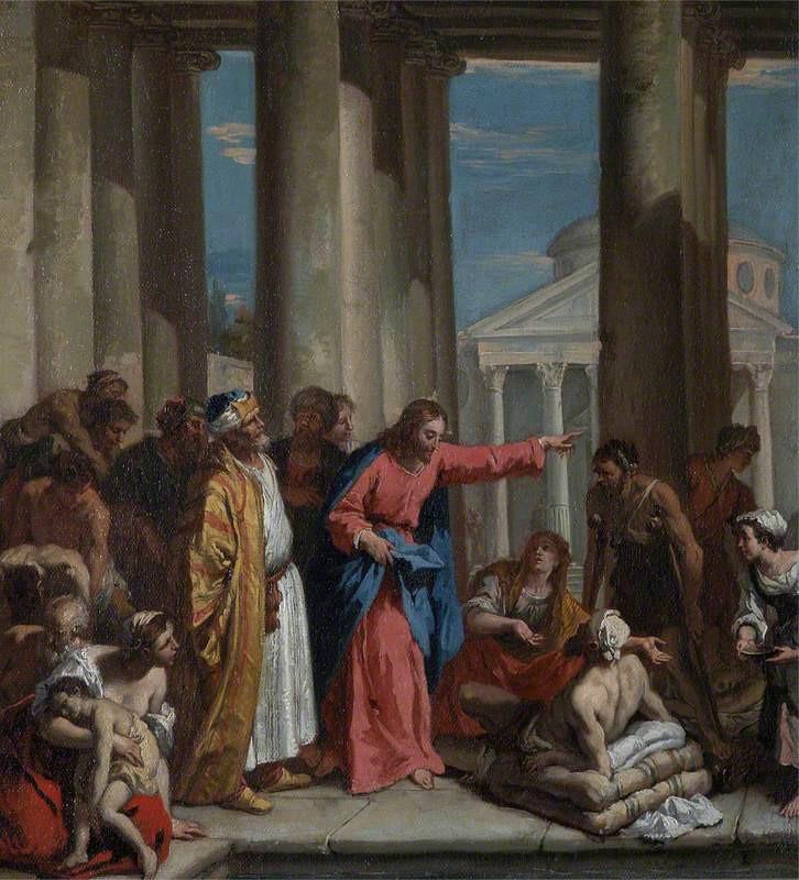 Jésus guérit le paralytique à Béthesda