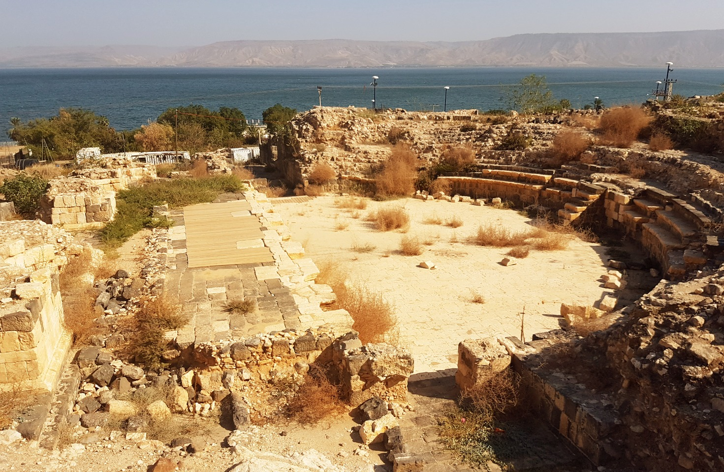 The Roman theatre of Tiberias