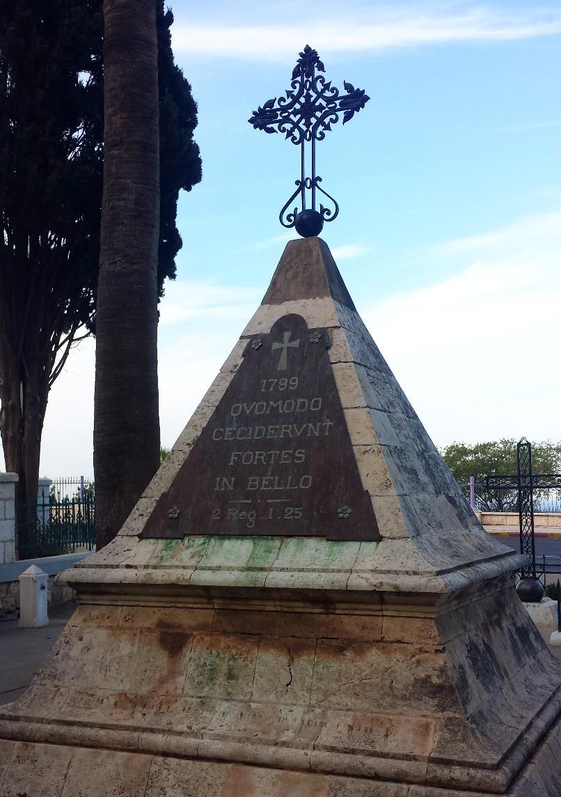 Monument aux soldats de Napoléon (Albert Tour Guide Israel)