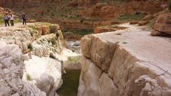 Canyon in Dragot stream