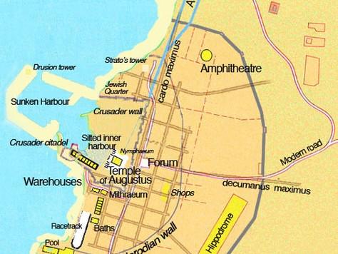 Caesarea, the capital of Judea for over 600 years
