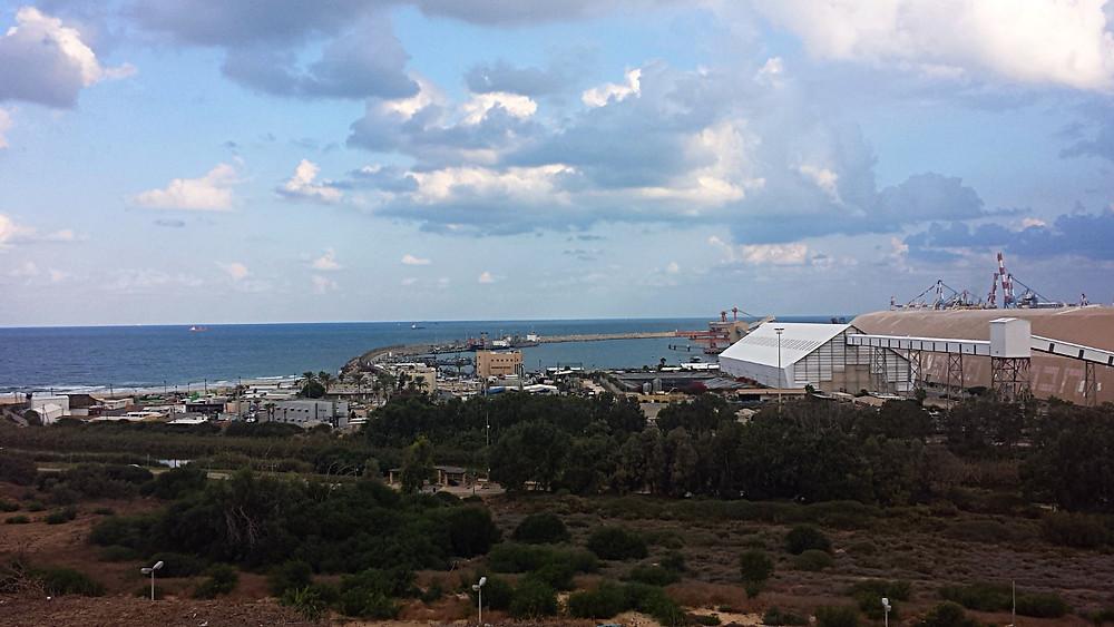 Vue depuis la colline de Jonas (Albert Guide Francophone Israël)