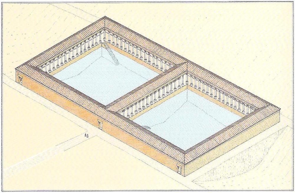 Les bassins de Béthesda
