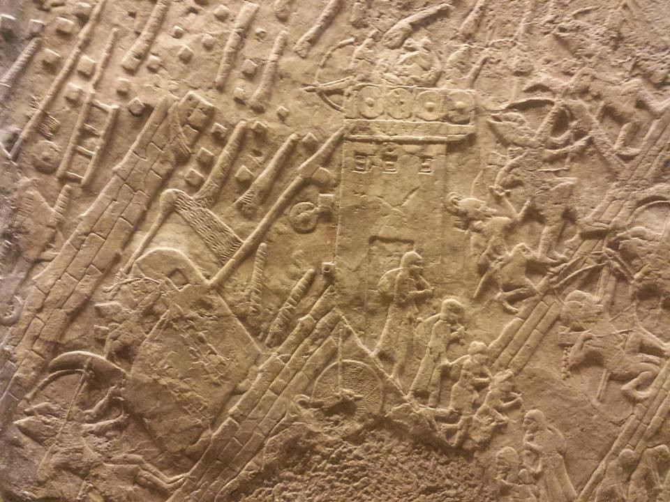 Lachish reliefs (Albert Tour Guide Israel)