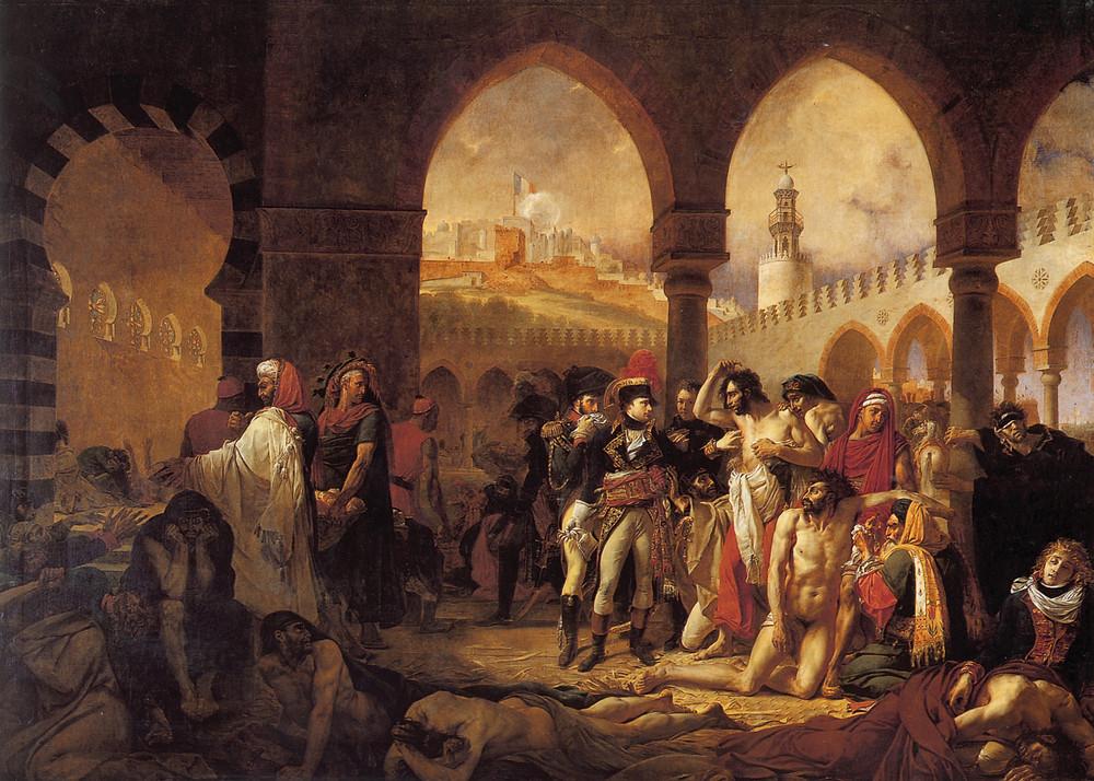 Bonaparte et les pestiférés de Jaffa (Albert Tour Guide Israel)