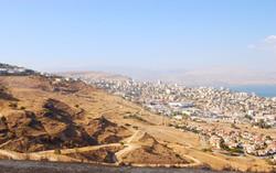 Panorama on Tiberias & Kinneret