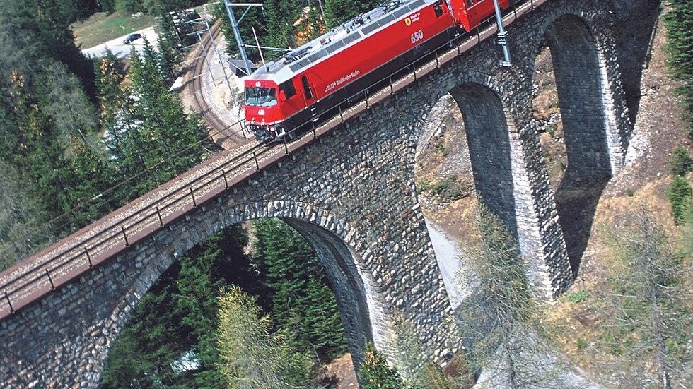 Bernina & Glacier