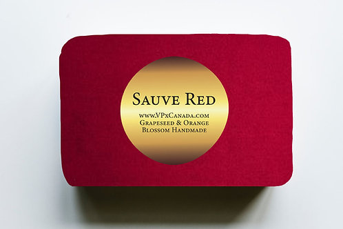 Sauve Red Grapeseed Extract Luxury Soap