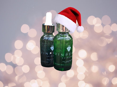 Luxury Gift Set - 1ea.of Grapeseed facial extract & vit. C serum