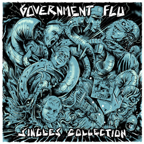 "Government Flu ""Singles Collection"" LP"