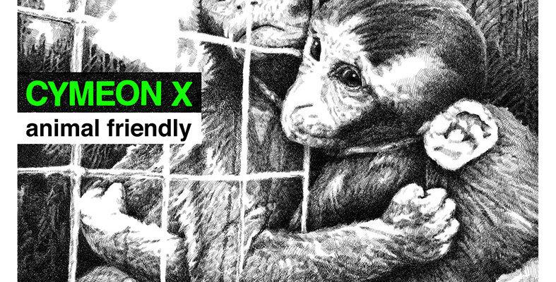 """Cymeon X """"Animal Freindly"""" LP"""