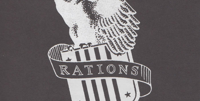 "Rations 'For victory"" LP"