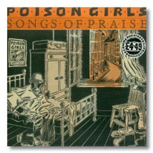 """Poison  Girls """"Songs of praise"""" LP"""