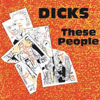 """Dicks """"These people """" LP"""