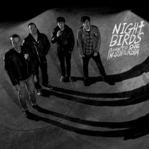 "Night Birds  ""Born to die in suburbia"" LP"