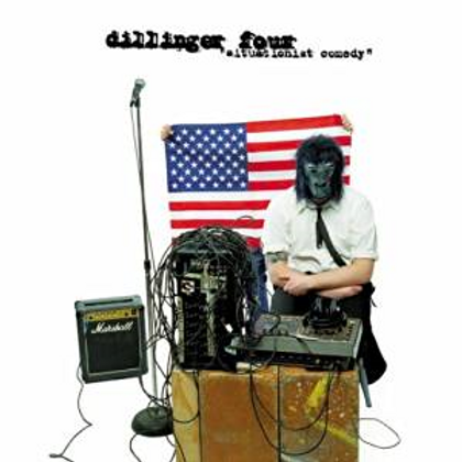 """Dillinger Four """"Situationist comedy"""" LP"""