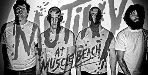 "Night Birds ""Mutiny at Muscle beach"" LP"