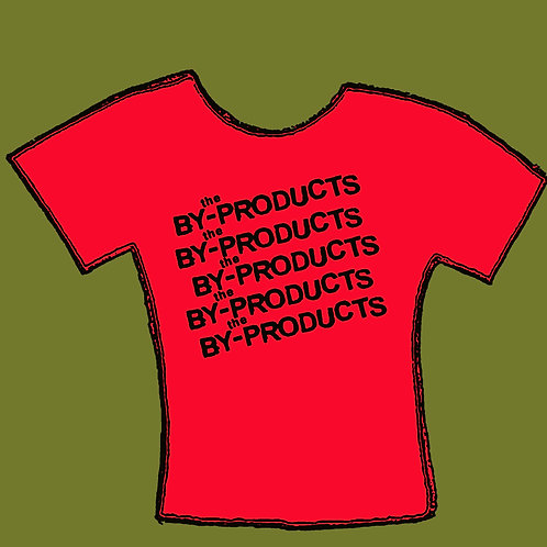 By-Products Red logo men'sTee