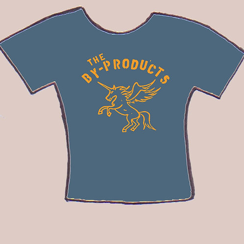 the By-Products Indigo Unicorn men's tee