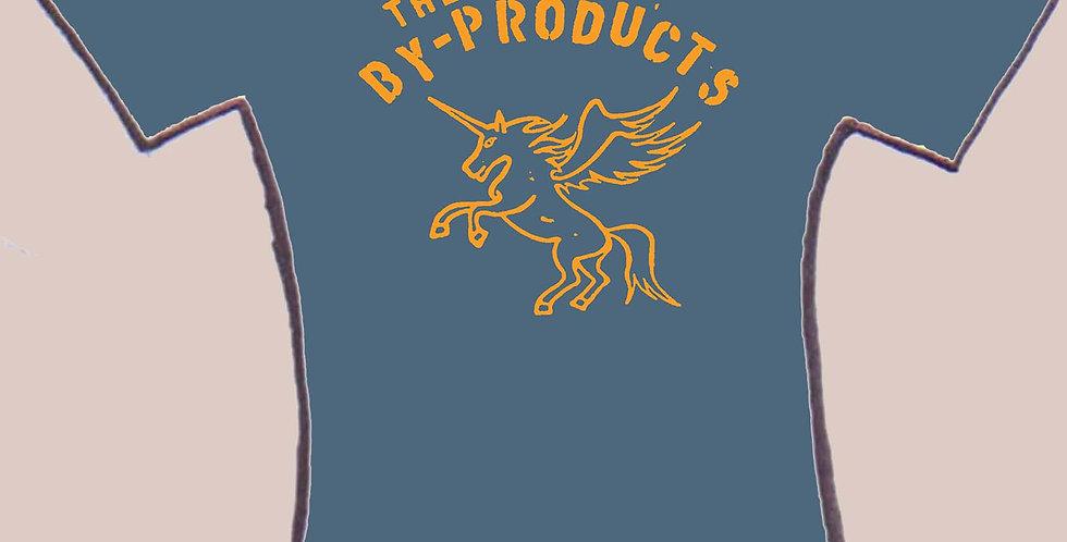 the By-Products Indigo Unicorn men's tee