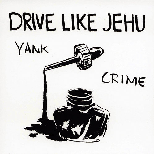 "Drive like Jehu ""Yank crime"" LP +bonus 7"""