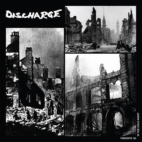 """Discharge  """"Toronto '83"""" LP"""
