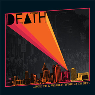"""Death """"For the whole world to see"""" LP"""