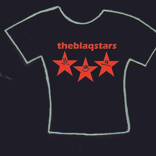 the Blaqstars logo tee