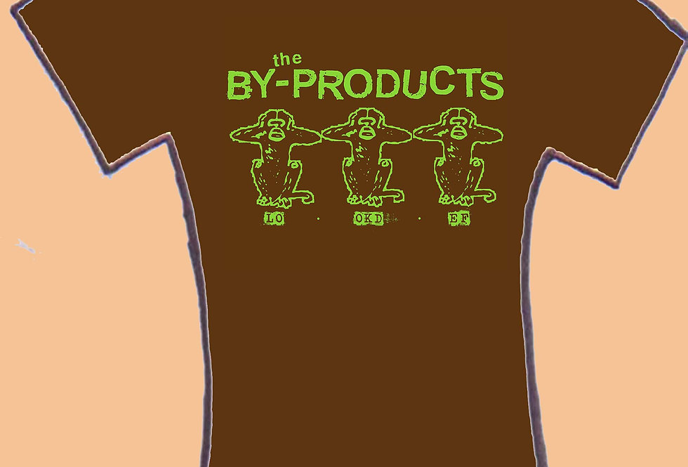"""the By-Products """"Look def"""" Logo men's tee"""